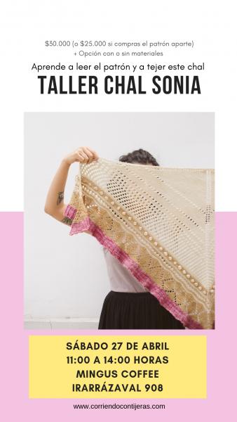 Taller: aprende a tejer el chal Sonia