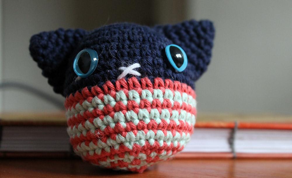 Poncho, el gato amigurumi | Corriendo con Tijeras