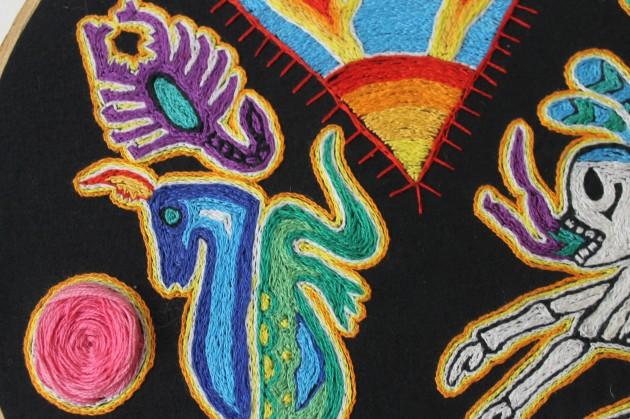 Desde octubre: un taller de bordado bueno, bonito y barato