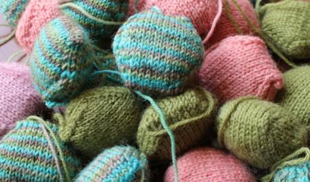 Tutorial: cómo tejer hexipuffs