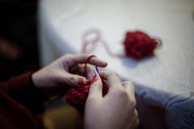 En diciembre ¡taller de tejido a un precio muy especial!
