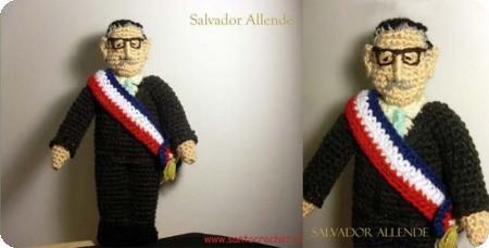 Los personajes tejidos de Santo Crochet