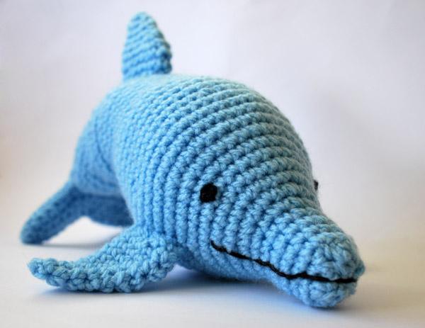 delfin amigurumi
