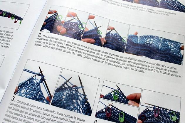 detalle instrucciones tejido paula