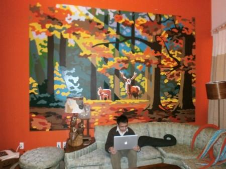 Las oficinas de Etsy (o la casa de la loca de los gatos)