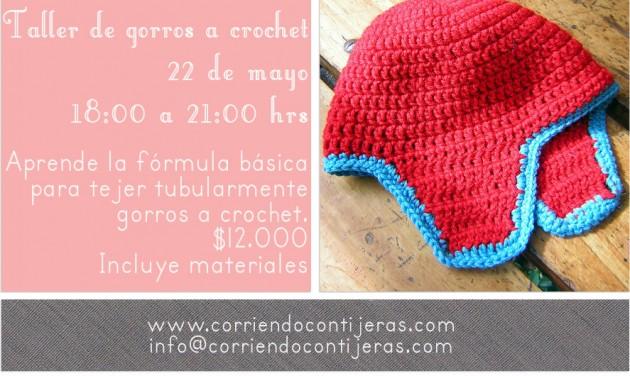 22 de mayo: taller de gorros a crochet