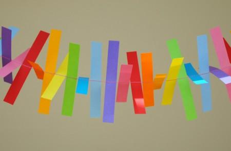 Guirnaldas de papel