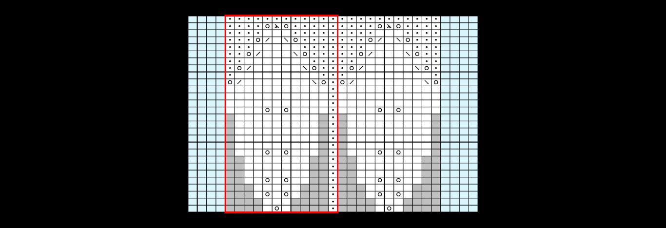 Mapa para diseñar un chaleco con hojas a palillos | Corriendo con ...