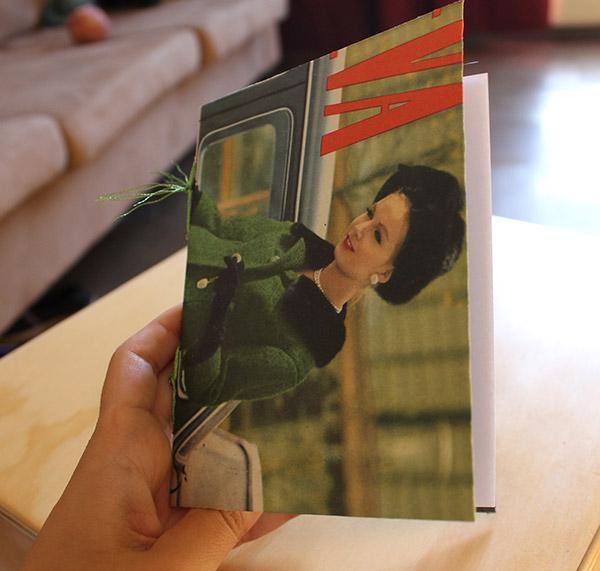 libreta hecha a mano