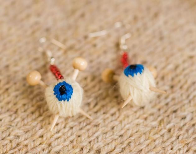 ojos de lana