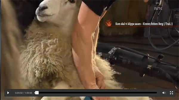 programa de televisión noruego sobre tejido