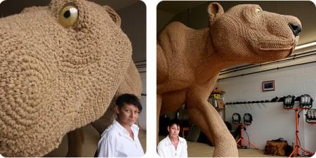 Crochet imperialista gigante para las olimpiadas