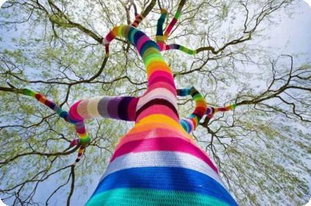 Reflexiones sobre el yarnbombing
