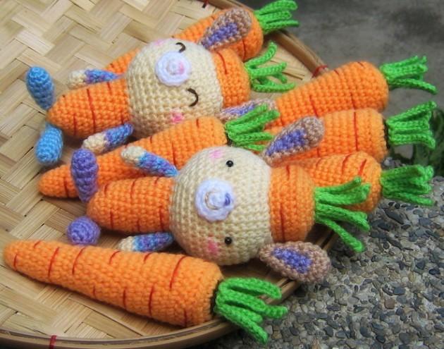 zanahoria de lana