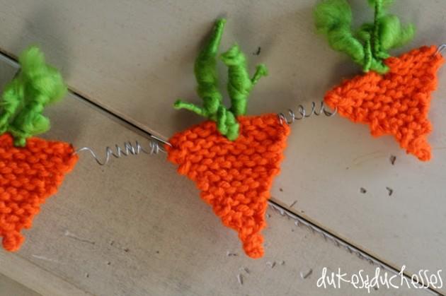 guirnalda zanahoria