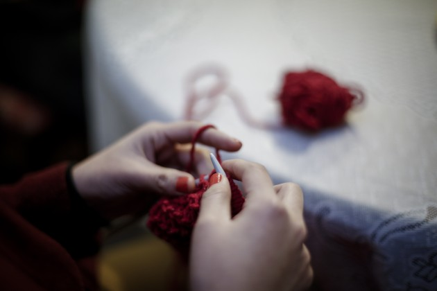 taller de tejido en Ñuñoa