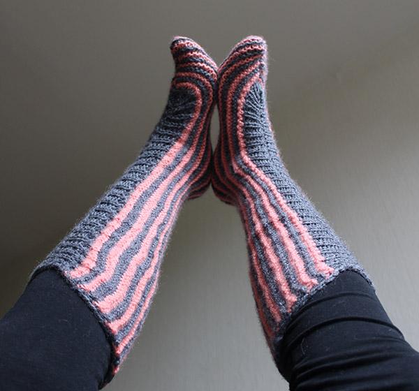tutorial calcetines fáciles