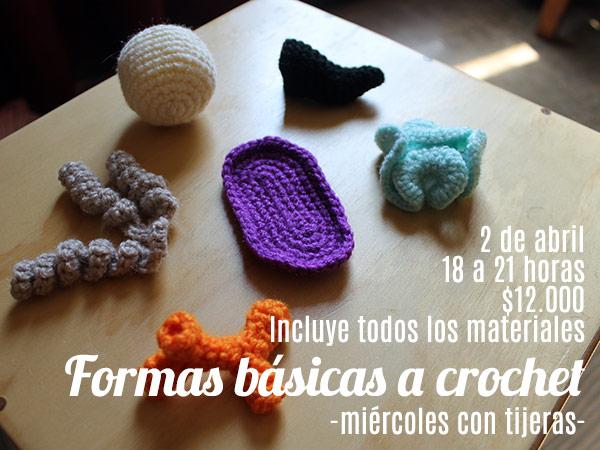 taller de formas básicas a crochet