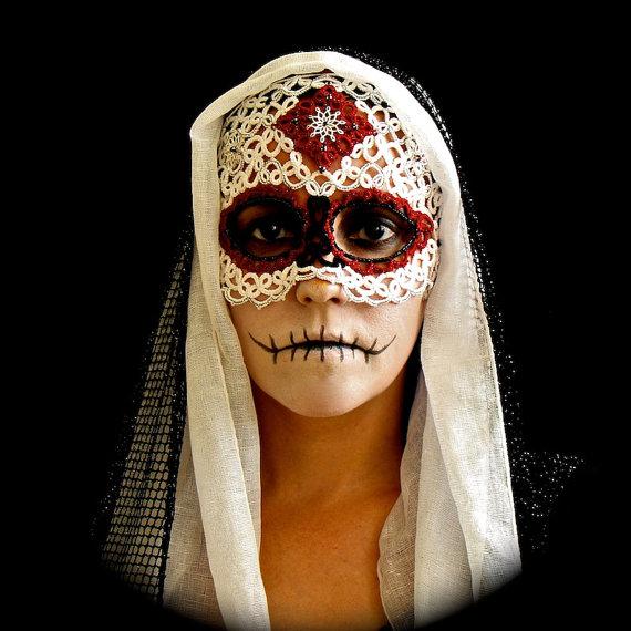 máscara frivolité